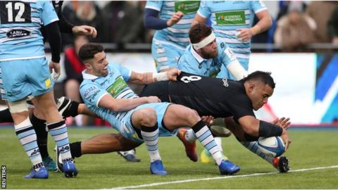 Saracens beat Glasgow to secure home quarter-final