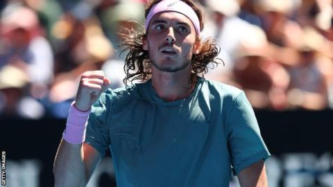 Tsitsipas reaches Australian Open semi-finals