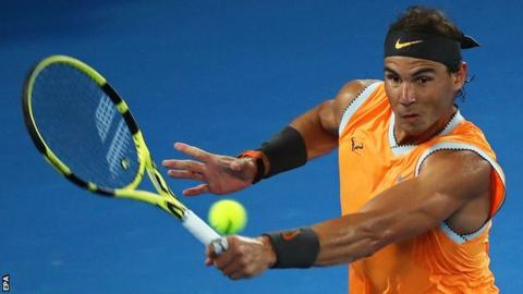 Rafael Nadal beats Frances Tiafoe in Australian Open quarter-finals