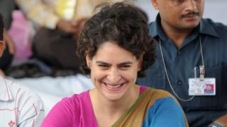 Priyanka Gandhi launches political career ahead of key India polls