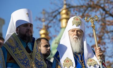 Patriarch Filaret: no new church exists. Tomos was given to Kyiv Patriarchate