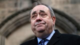 Former Scottish First Minister Alex Salmond arrested