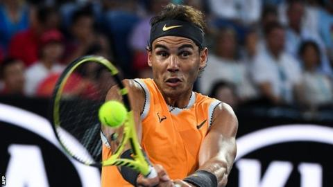 Ruthless Nadal crushes Tsitsipas to reach Australian Open final