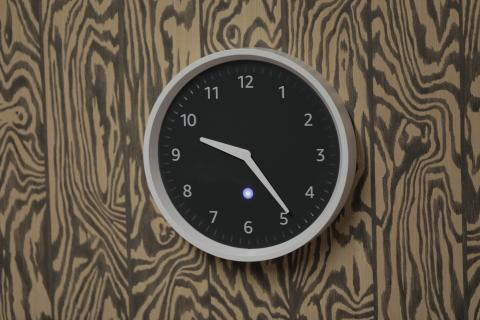 Echo Wall Clock review