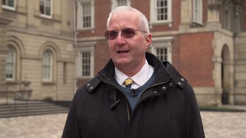 Paul Whelan: Ex-US Marine held on suspicion of spying is UK citizen