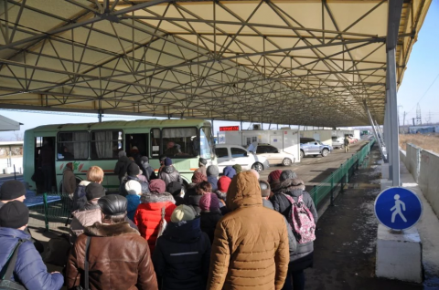 Three civilians die at Horlivka checkpoint, - media