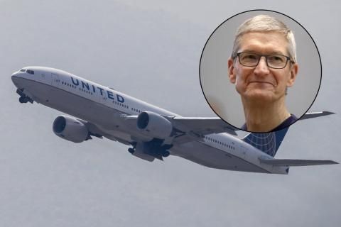 Apple buys 50 business-class seats every day on flights to Shanghai, according to a leaked 'confidential' United sign (AAPL, UAL)