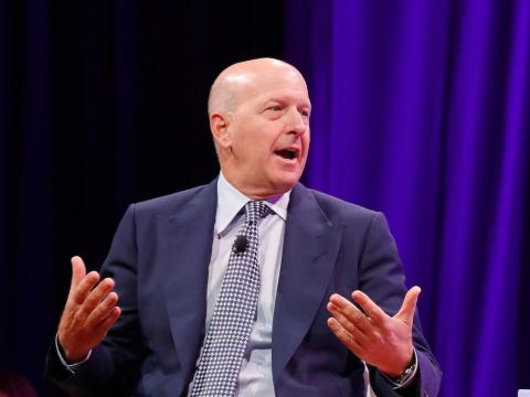 Goldman Sachs CEO David Solomon shares the story of how he became a DJ