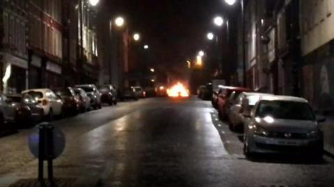 Londonderry: PSNI say courthouse bomb