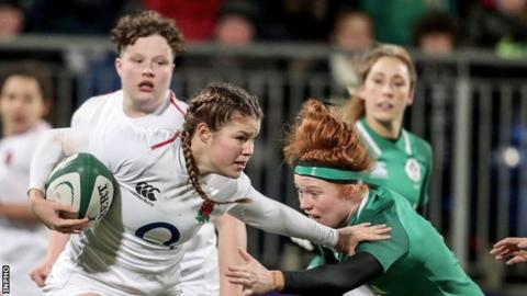England score eight tries to thrash Ireland in Women's Six Nations opener
