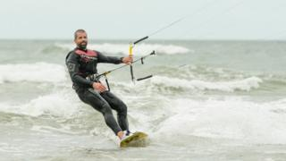 Girlfriend pays tribute to kitesurfer who died in Saunton