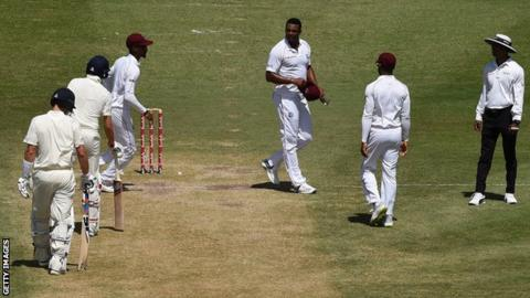 West Indies' Gabriel warned over Root incident