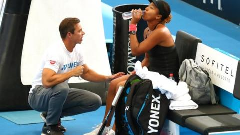 Naomi Osaka: World number one splits with coach Sascha Bajin