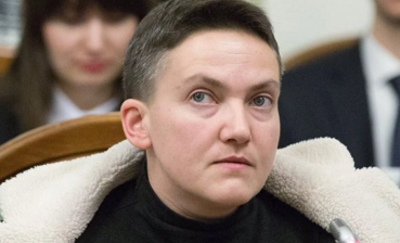 Savchenko reveals conditions of detention in Chernihiv remand center