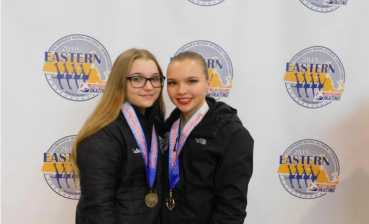 Two Ukrainians won synchronized skating tournament in USA