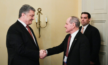 "Time for ""Azov package"" of sanctions against Russia: Poroshenko met with U.S. representative"