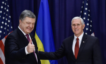 Ukraine's President Poroshenko to meet with U.S. Vice-President Mike Pence