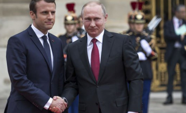 Putin complains to Macron about ban on Russian observers to come to Ukrainian elections