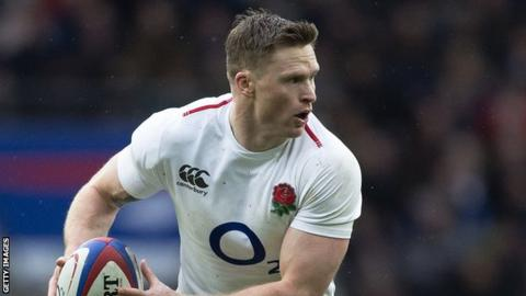 Injured England winger Ashton out of Wales match