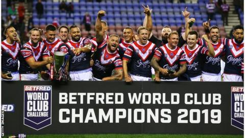 Morris hat-trick helps Roosters beat Wigan in World Club Challenge