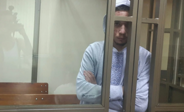 Political prisoner Gryb taken to court session with fever