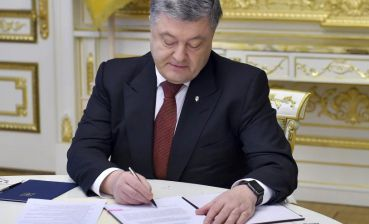 Poroshenko signs letter to UN Secretary-General with demand to release Ukrainian sailors