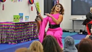 Drag queen story hour in America