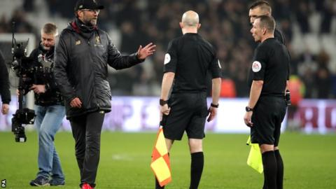 Liverpool boss Klopp fined?45,000 for referee comments