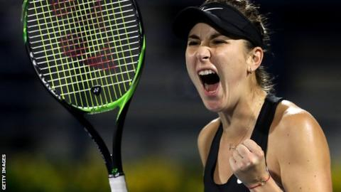 World number two Halep beaten by Bencic in Dubai