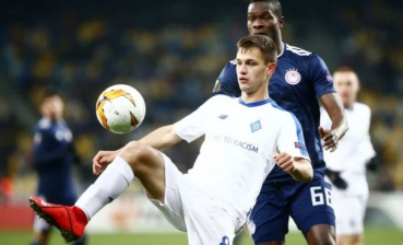UEFA Europa League: Dynamo beats Olympiakos, proceeds into Round of Last 16