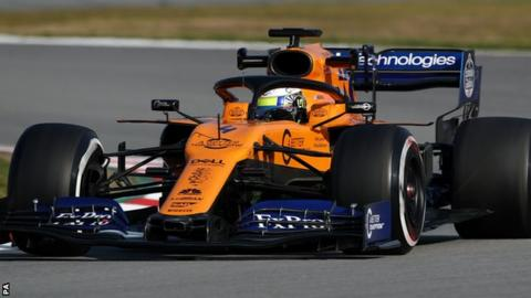 Three McLaren staff treated after garage fire in Barcelona