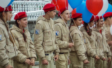 Children taught how to hunt 'the enemy' and disperse protests in Russia and occupied Crimea