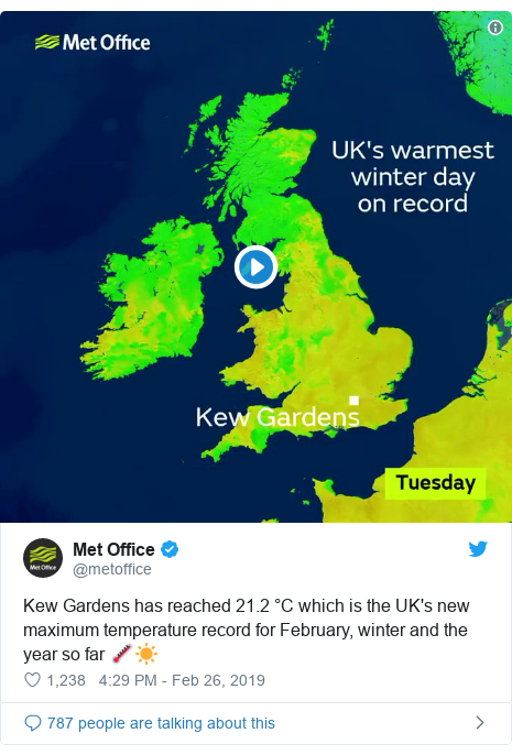 UK weather: Is hot February down to climate change?