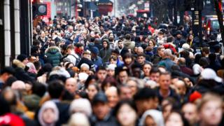 UK migration: Rise in net migration from outside EU