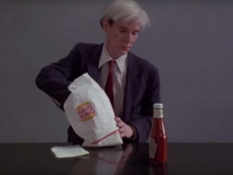 Burger King baffled and infuriated people with its Super Bowl ad starring Andy Warhol (QSR)