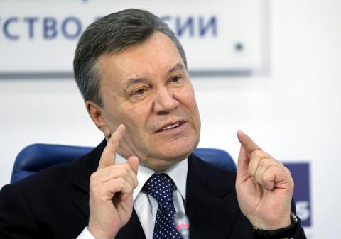 Yanukovych to give press conference in Moscow on February 6