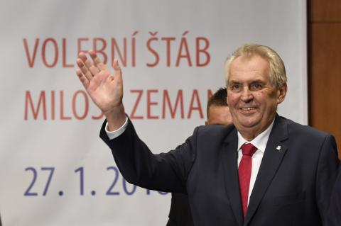 Zeman criticizes Foreign Ministry for not critical evaluation of Banderites issue in Ukraine