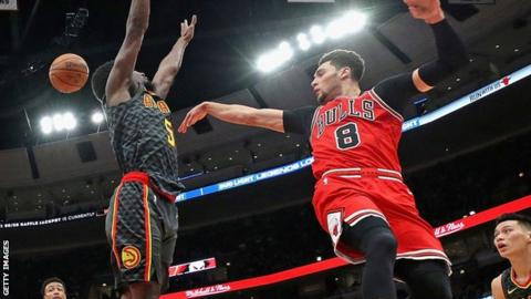 Bulls beat Hawks in third-highest scoring game in NBA history