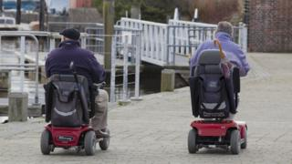 Disabled pensioners freed from