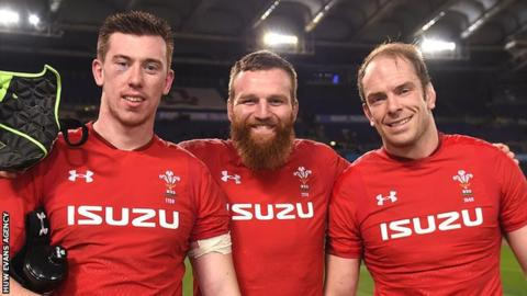 Beard replaces injured Hill in Wales side to face Scotland