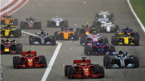 F1 accused of sending