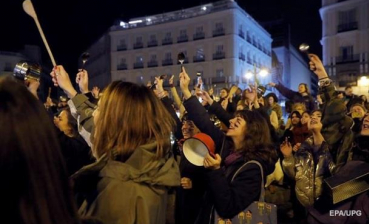 Thousands of women protest in Spain, demanding gender equality