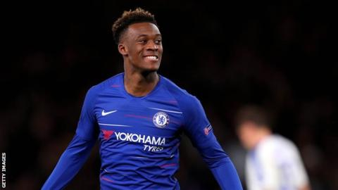 Chelsea winger Hudson-Odoi called up to England squad for first time