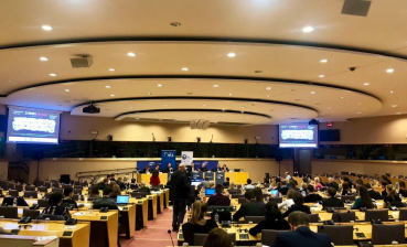 Film about Ukrainian political prisoners showed at European Parliament