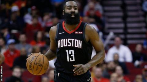 James Harden: Houston Rockets guard sets NBA scoring record