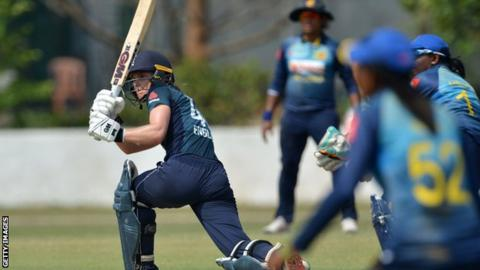 England whitewash Sri Lanka in ODI series