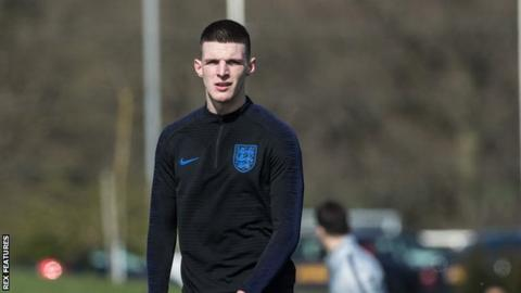 Declan Rice: England and West Ham player apologises for 2015 Instagram post