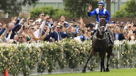 Winx races to 32nd consecutive win in Australia