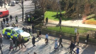 St Paul's Cathedral suspected gunman arrested