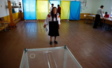 Turnout in Ukrainian presidential elections – 16.8% for now, - CEC